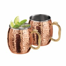 Hammered Moscow Mule Mugs Set/2