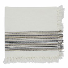 Fringed Napkin Black
