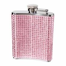 Glitter & Glitz Flask Pink 6 oz.