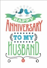 Card Anniversary To Husband