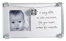New Baby Girl Clip Frame