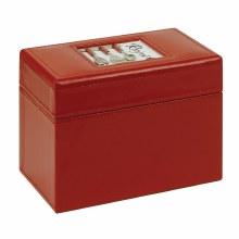 Ala Carte Recipe Box Red