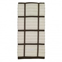 All-Clad Kitchen Towel - Check Almond