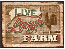 Picture Live Laugh Farm