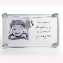 New Baby Boy Clip Frame