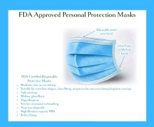 Disposable Face Mask (blue)