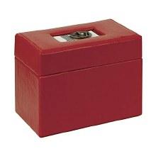 Bon Appetit Recipe Box Red