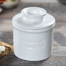 Butter Bell Crock Matte White