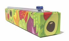 Chic Wrap Plastic Wrap Dispenser - Veggies