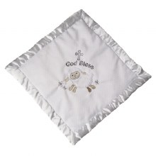 Christening Lamb Cozy Blanket