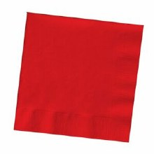 Luncheaon Napkin 2 ply 50 Ct. Classic Red