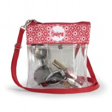 Clear Game Day Crossbody - Nebraska