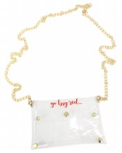 Clear Purse Nebraska - Go Big Red