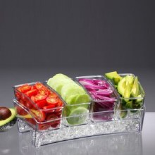 Condiment Bar On Ice