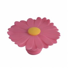 Daisy Bottle Stopper Pink