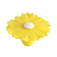 Daisy Bottle Stopper Yellow
