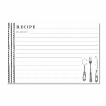 Delicious Scallops Recipe Cards