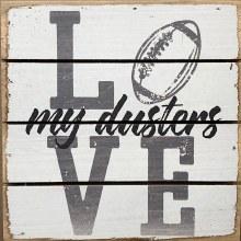 Box Sign - Duster Football