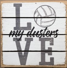 Box Sign - Duster Volleyball