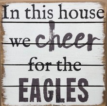 Box Sign - Eagles