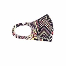 Fashion Facemask Zig Zag Abstract