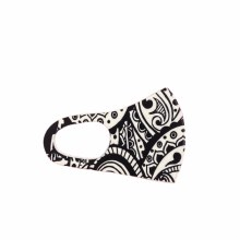 Fashion Facemask Mandala Black/White