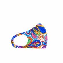 Fashion Facemask Bright Paisley
