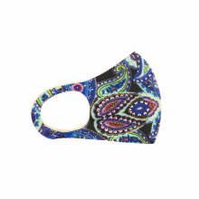 Fashion Facemask Cool Paisley