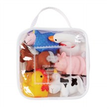 Rubber Bath Toys Farm Animal