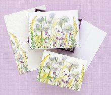 Notes White Floral