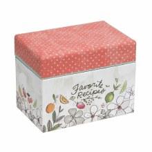 Fruit Fusion Recipe Box