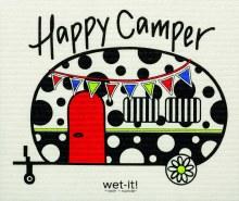 Swedish Cloth Happy Camper