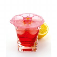 Hibiscus Lid Drink Cover