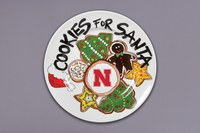 Husker Cookie Plate
