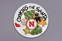 Husker Cookie Plate