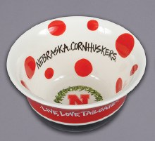 Husker Love Bowl Red
