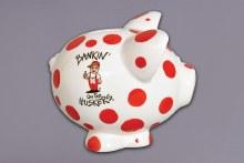 Husker Piggy Bank
