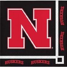University of Nebraska Cornhuskers Beverage Napkins 20 Ct.