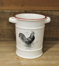Ceramic Utensil Holder Rooster