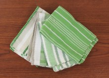 Basic Dish Cloth S/4 Green