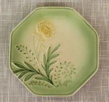 Bloom Dessert Plate Green