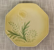 Bloom Dessert Plate Yellow