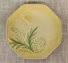 Bloom Dessert Plate Yellow