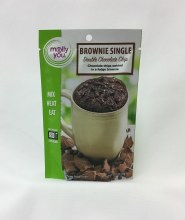 Brownie Single Double Chocolate Chip