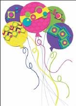 Enclosure Card Balloons