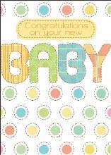 Enclosure Card Baby Congratulations