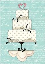 Enclosure Card Wedding Cake