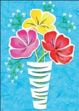 Enclosure Card Flowers