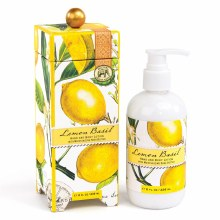 Boxed Lemon Basil Lotion