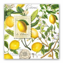 Lemon Basil Luncheon Napkin